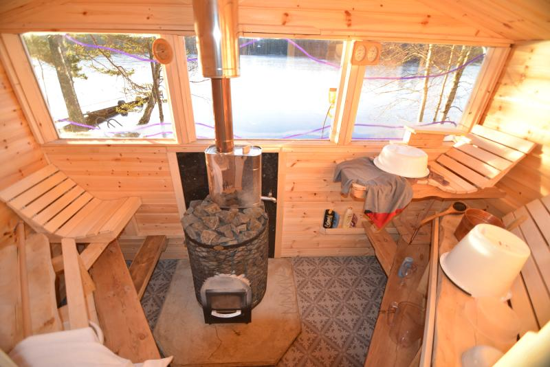 Took 2 months hard work to build the perfect Sauna.