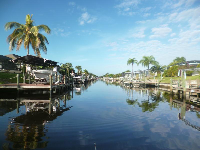 view from the Canal, salted water, access to the Gulf