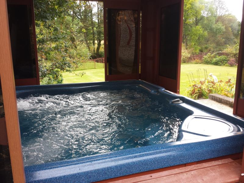 View from hot tub - and relax!
