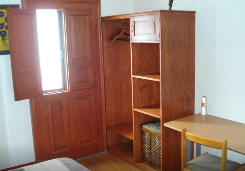 Fully furnished private bedroom with safe