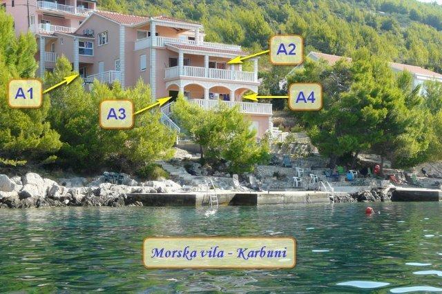 Morska Vila   (Fairy sea), holiday rental in Blato