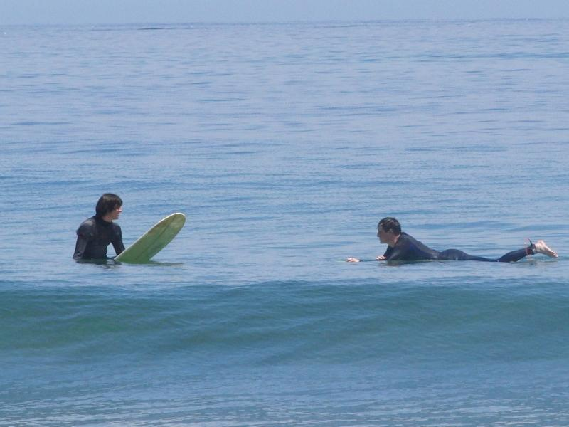 Surfing at the National Seashore