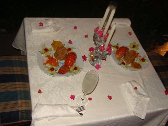 Romantic Dinner at Posada Spring View