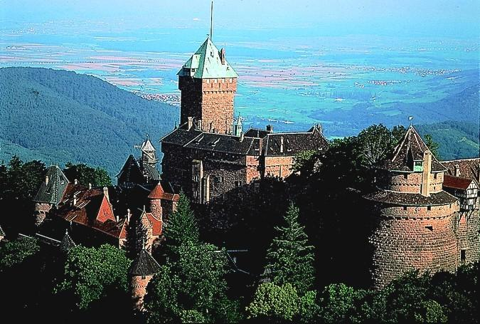 The castle of haut-koenigsbourg