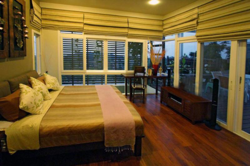 Guest bedroom | The Levels | luxury, sea-view, villa for rent, Koh Lanta, Thailand