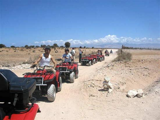 Sahara Quad biking available at our Agency