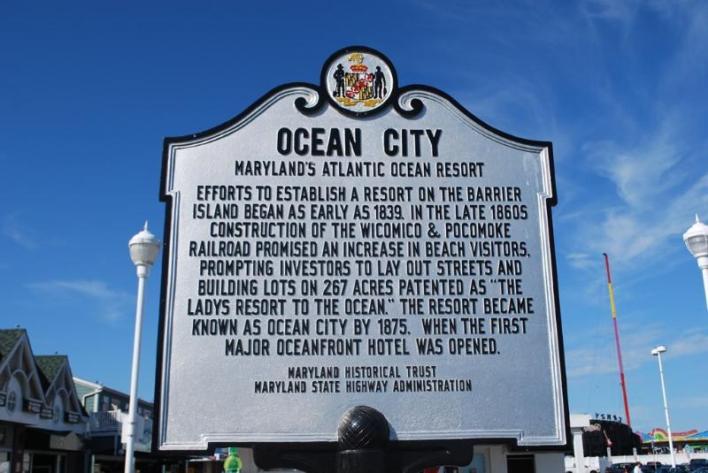 History of Ocean City Maryland