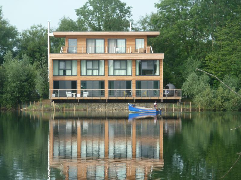 Stunning lakeside setting in a luxury Cotswold estate designed by Philippe Starck for Lakes By Yoo