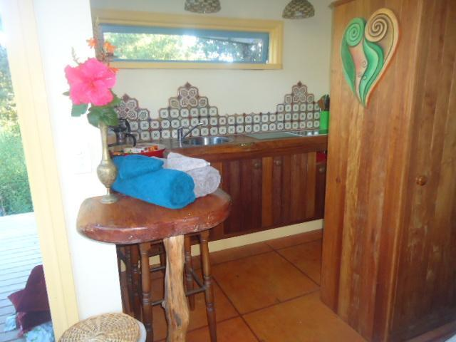 you will love the small kitchenette made with love