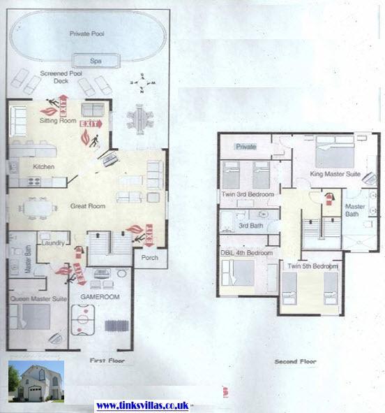 Villa Linton Floorplan