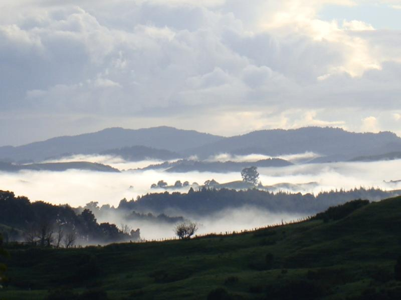 islands arising from the mist of time...