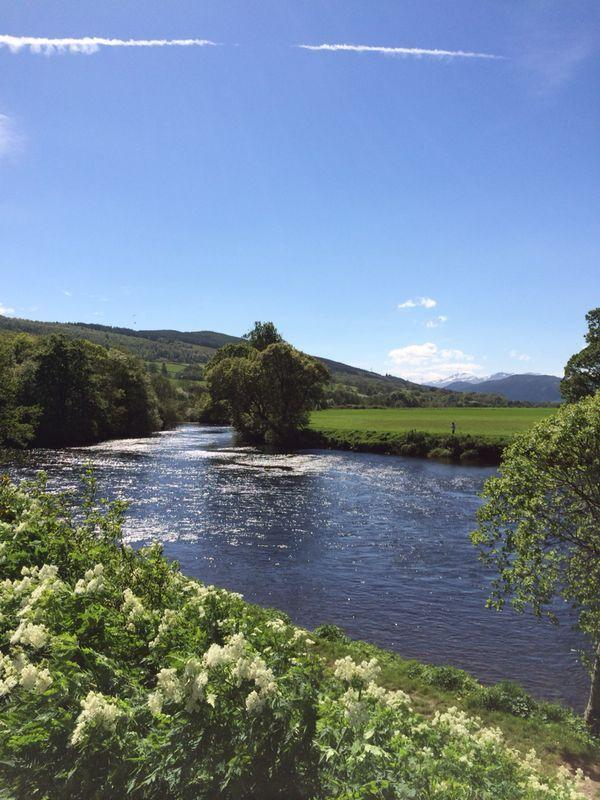 Beautiful location close to River Tay