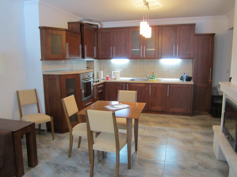 área de estar/cozinha