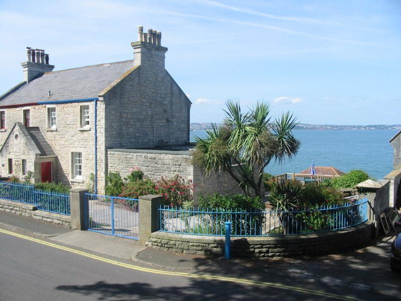 The old Coastguard cottage has uninterrupted sea views, and plenty of parking.