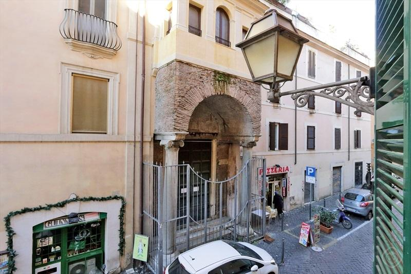 The view from the apt.: Santa Prassede a Roman Villa turned into a Curch 800a.C.