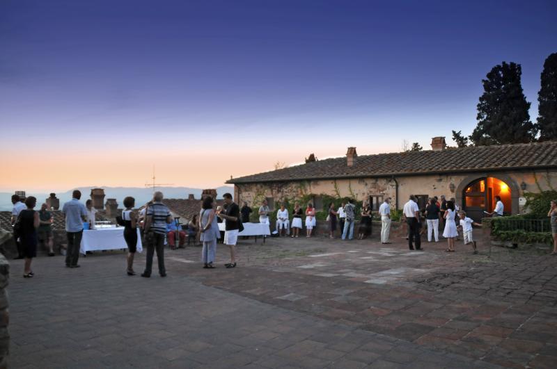 Wine taste event at Castello Ginori Querceto