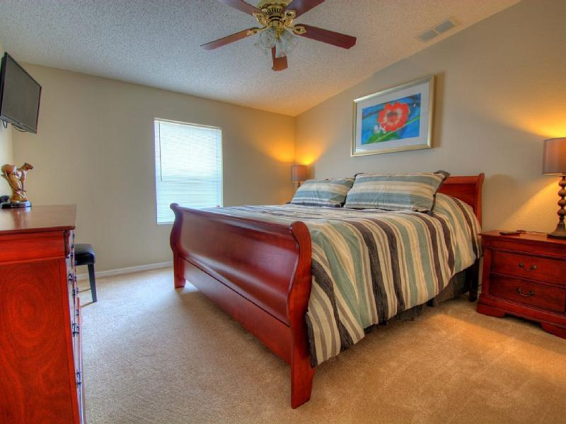 1st Guest Bedroom with pillow top King sized bed