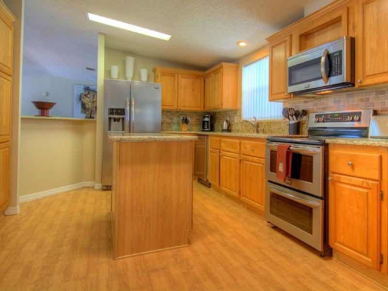 Large updated kitchen with everything you need included