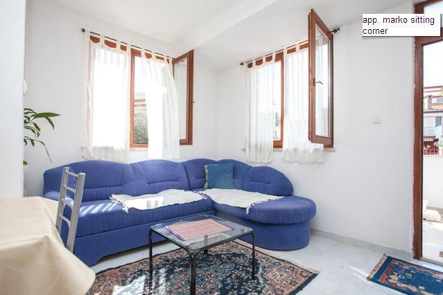 studio Marko in quite part of Rovinj, vacation rental in Rovinj