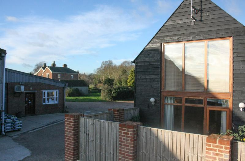 Exterior of Hayloft holiday let, close to farm shop and The Barn Cafe