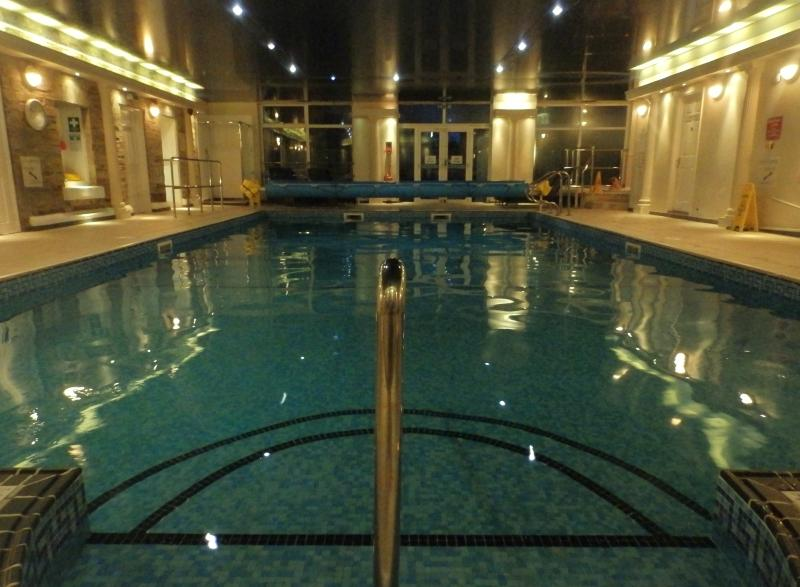 The large heated indoor pool, sauna, steam room and whirlpool are all available to you!