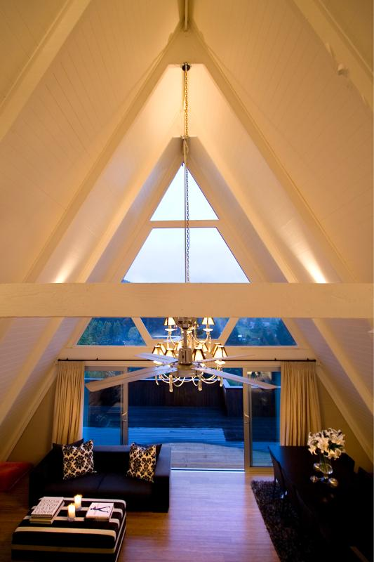 A Frame from Inside, Master Suite view