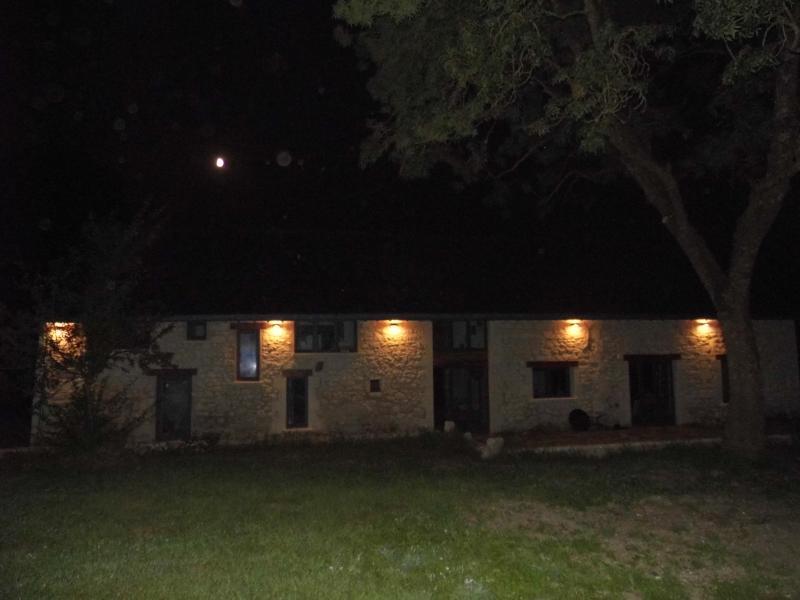 Barn at night 2