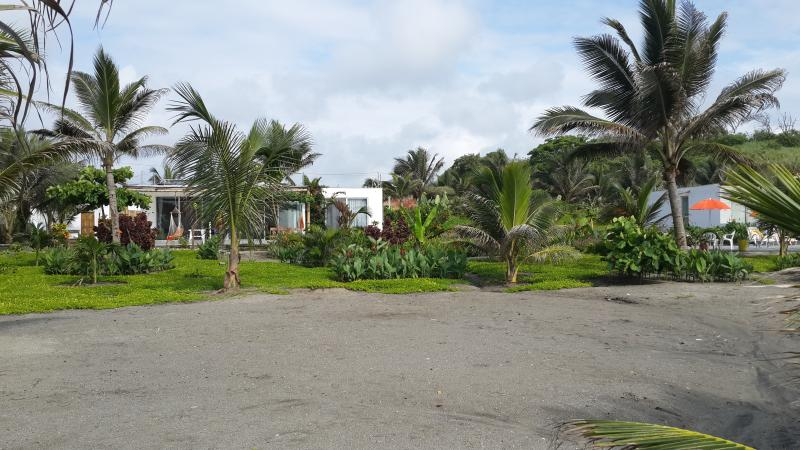 Private beach and gardens