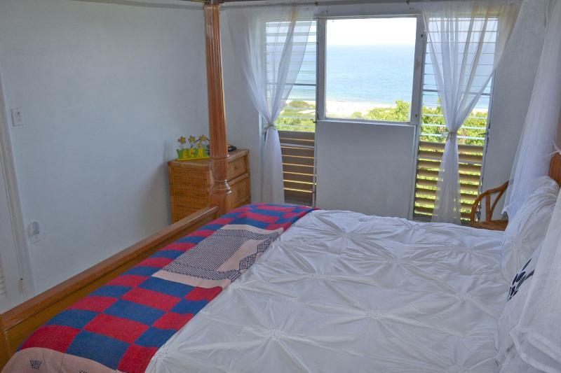 Bedroom #1 overlooking ocean