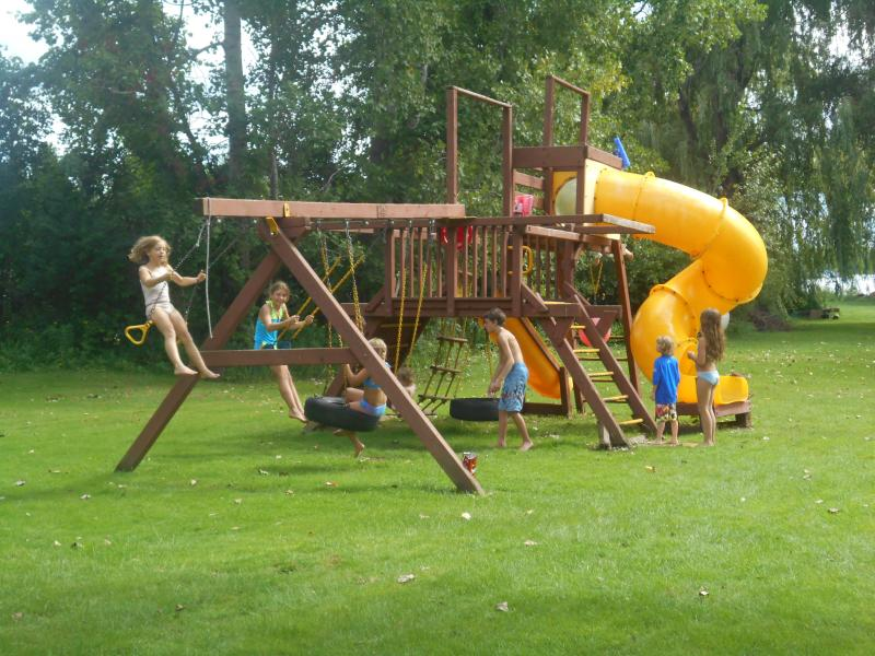 Large Playscape for all to enjoy!