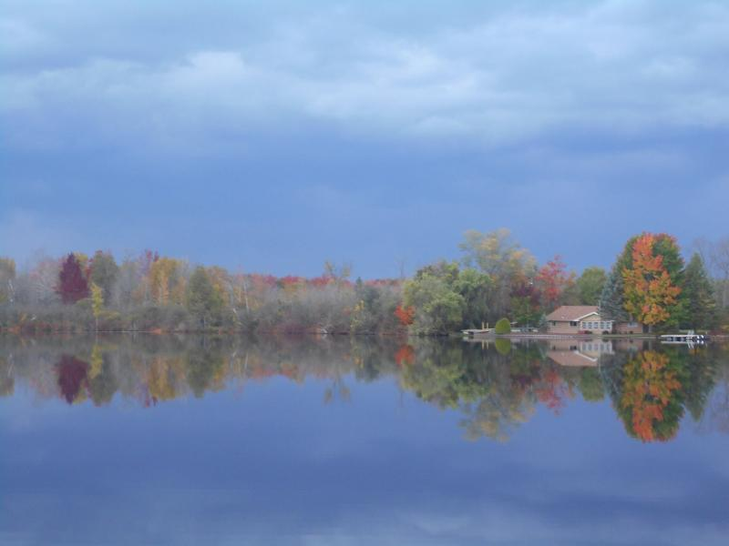 Fall view of Lake George; so peaceful and serene.