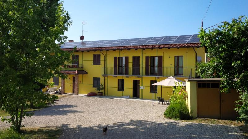 Apartment with shared garden near Barolo, holiday rental in Castiglione Falletto