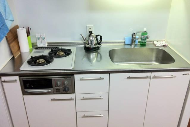 Brand new and fully equipped kitchen.
