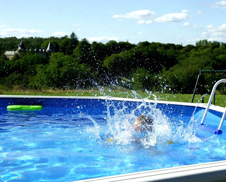 Splashing about in the pool