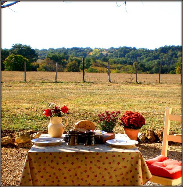 Enjoy breakfast on your terrace