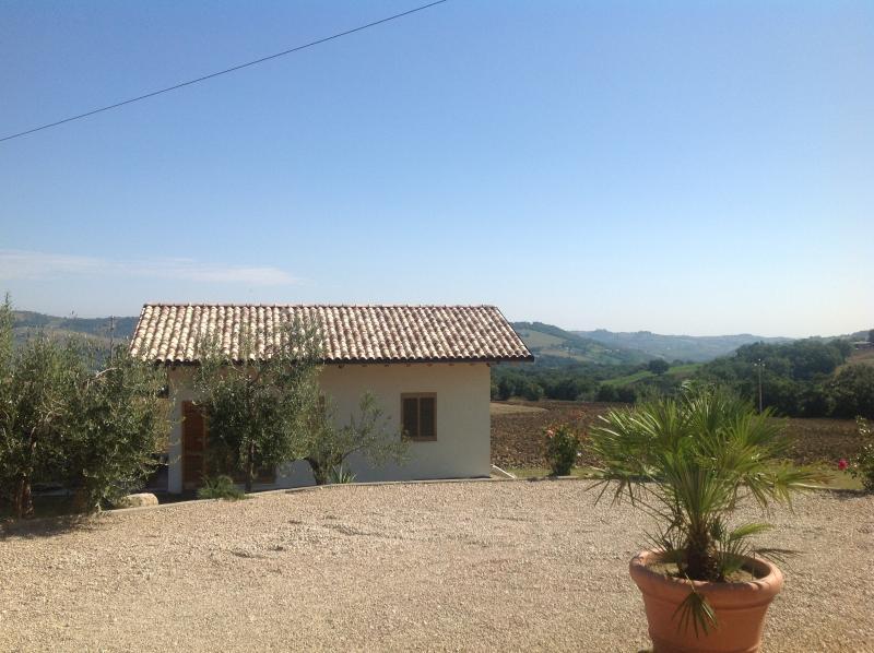 Casa Bertona, location de vacances à Calascio