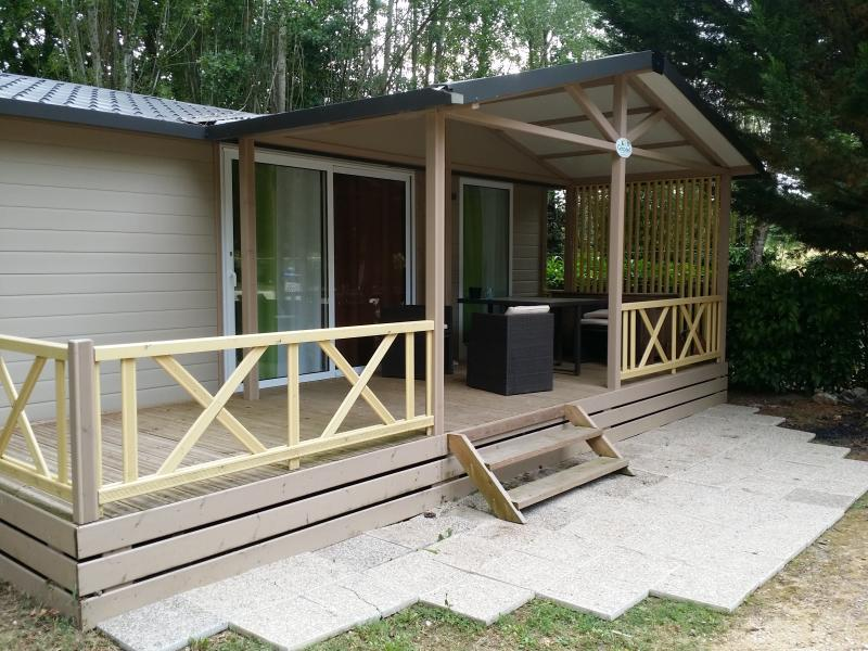 The chalets to receive large families.