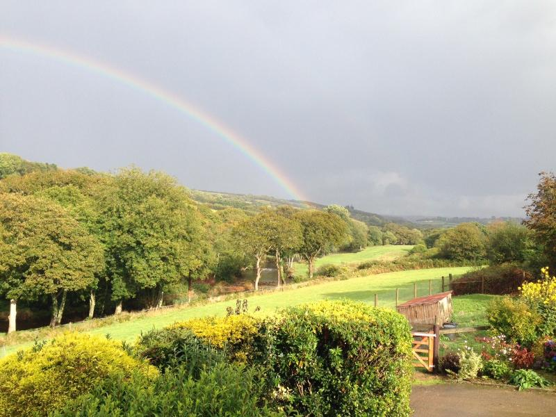 Stunning views across the Camel Valley