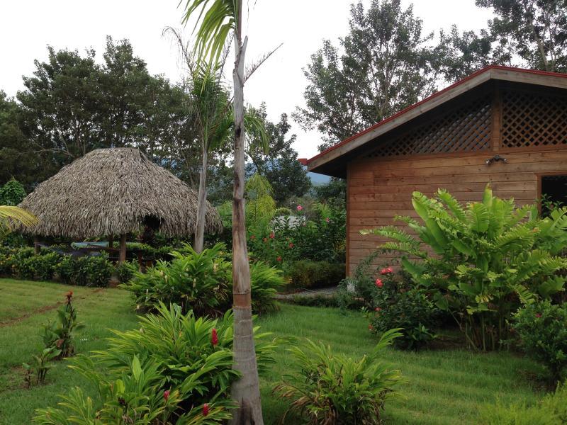 house, garden, rancho