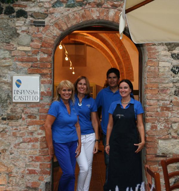 Funcionários da adega - Castello Ginori, em Querceto