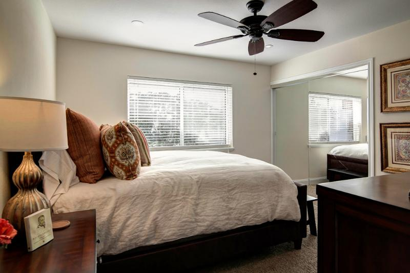 Bdrm 3 | Bright with pillow top queen, fine furnishings, large closet, cable TV