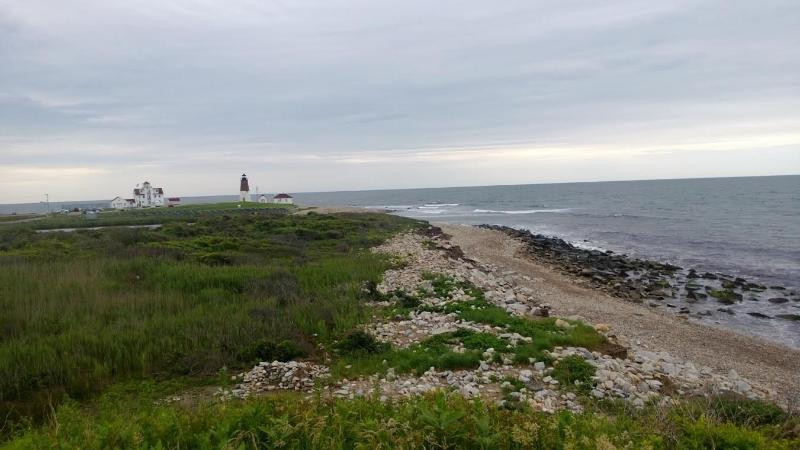 Point Judith avec phare