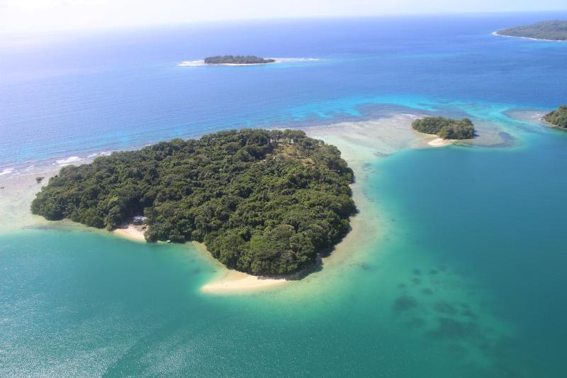 Malvanua Island from the air