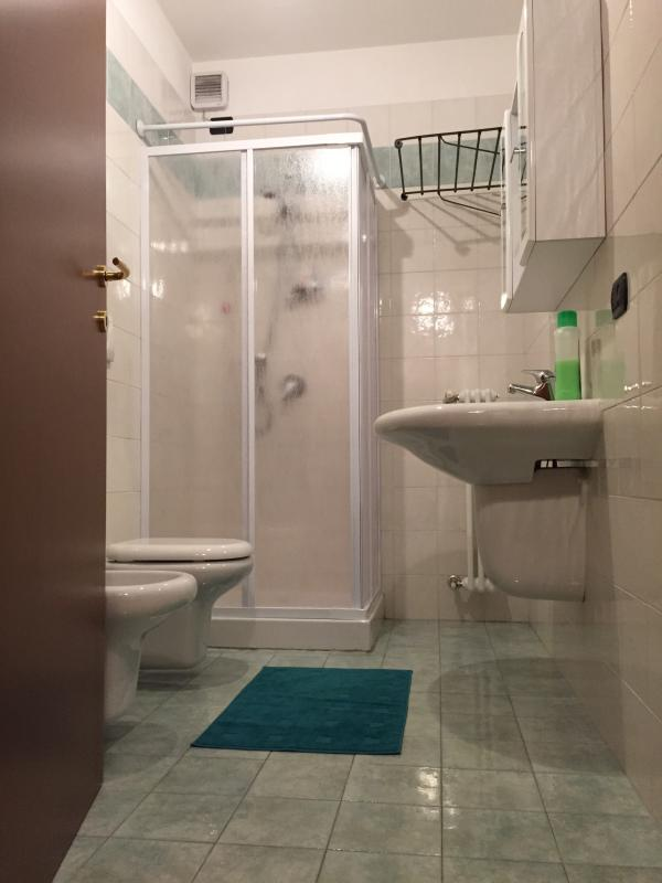 Toilet with shower, practical