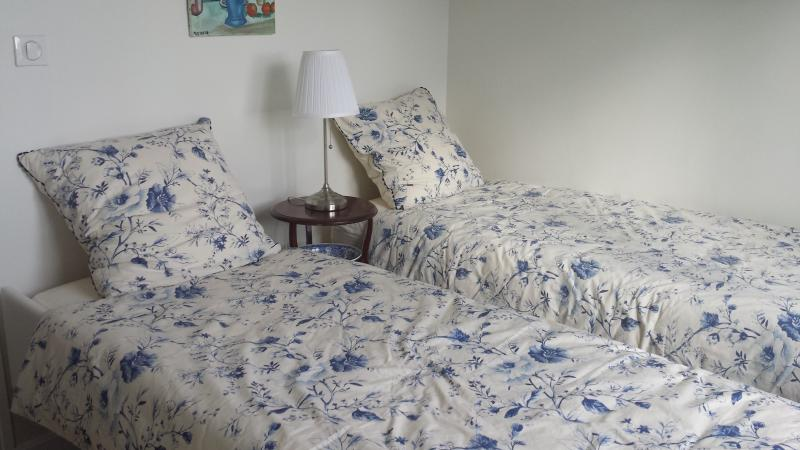 View of 'blue bedroom'