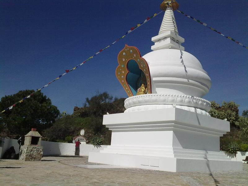 Local buddhist shrine..