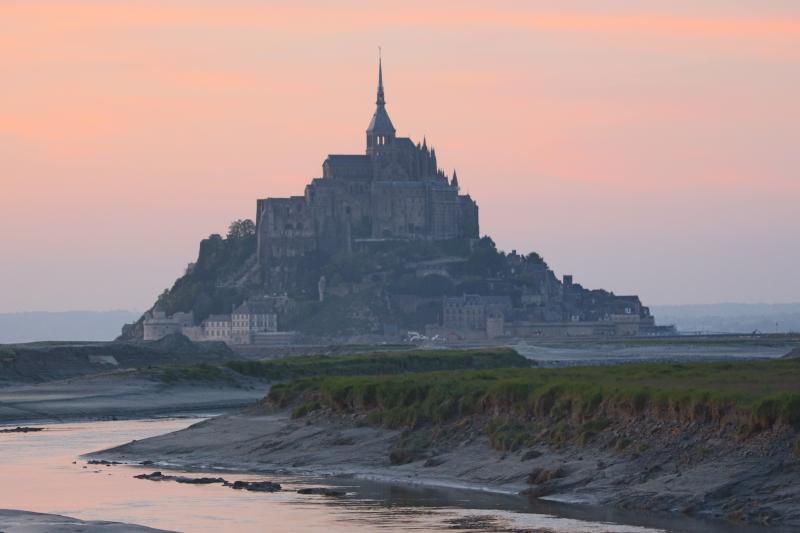 Buitengewone Mt Saint Michel