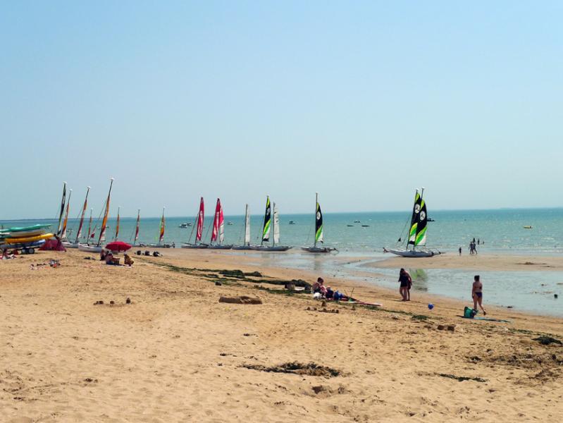 Der Strand von La Tranche Sur Mer