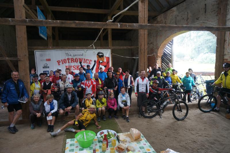 great cycling country. This group had a big lunch on a tour round the area