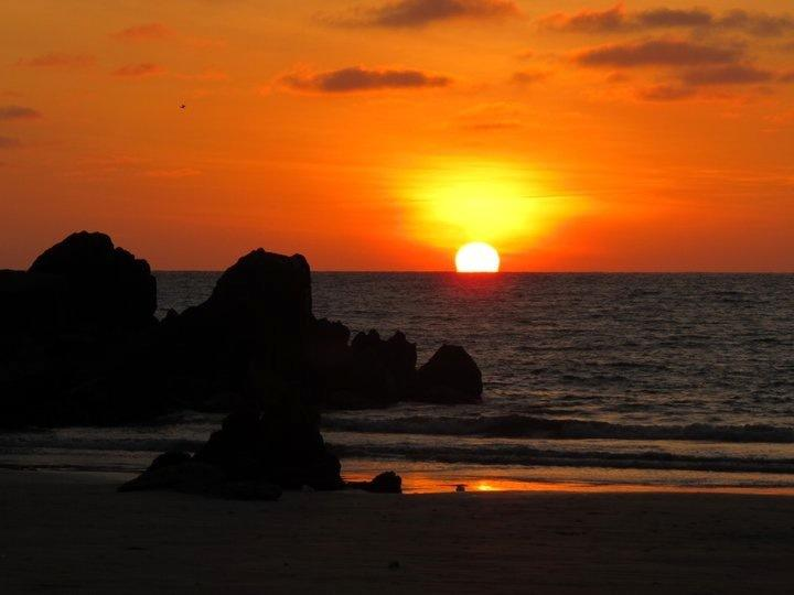 sun set Ayangue